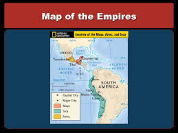aztec mayan inca map great civilizations in the americas the olmec aztec and