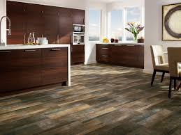 Best Flooring For Kitchen by Linoleum Dark Wood Flooring And Modern Dark Wooden Floor For
