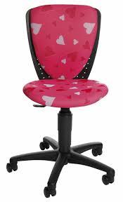 bureau de fille engageant chaise de bureau pour fille coeurs enfant zoom