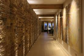 Hallway Lighting Ideas by Up Lighting Brick Wall Ebury Mews Pinterest Stair Lighting