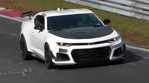 2018 chevrolet camaro zl1 1le record attempt at nurburgring
