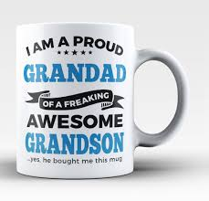Awesome Mugs by Grandad T Shirts Mugs Cups U0026 Gift Ideas For Any Proud Granddad