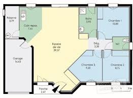 plan maison rdc 3 chambres plan maison 100m2 plein pied 3 chambres la romaine 3 plainpied de