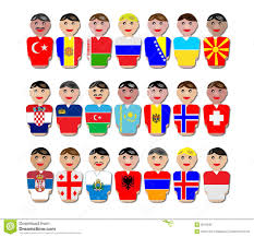 Flags Of Countries In Europe Europe Clipart European Person Pencil And In Color Europe