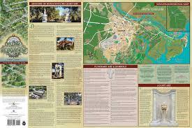 Map Of Savannah Ga Bonaventure Cemetery Map