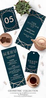 customized wedding programs best 25 modern wedding invitations ideas on wedding