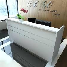 Salon Reception Desk Table Bar Salon Special Minimalist Modern Salon Reception