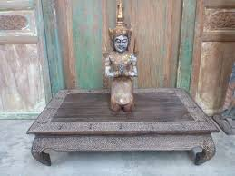 bali style coffee table balinese furniture wood low opium coffee table hand carved timor