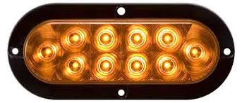 amber lighting danbury ct 8100526 led turn stop light motofit atvs motorcycles and