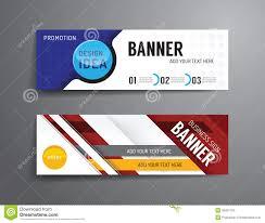layout banner design set of banner template vector design graphic or website layout