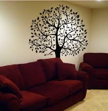 wall decal 6 ft big tree deco art sticker mural diy