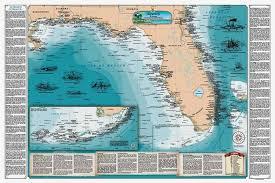 florida shipwrecks map shipwreck map ebay