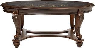 Ashley Furniture Glass Coffee Table Ashley Furniture Signature Design Norcastle Glass Top Coffee