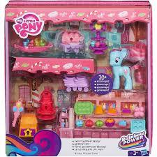 Ruspe Giocattolo A Pedali by Hasbro A8212 My Little Pony Caffetteria Dei Pony Giochi Bimba