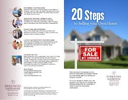 20 steps to selling your own home