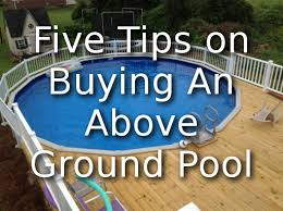 Backyard Leisure Pools by Five Tips For Buying An Above Ground Pool Great Advice Above