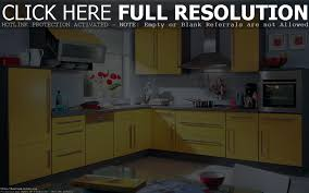 Yellow Kitchen Decorating Ideas Bright Kitchen Design With Yellow Color And White Wall Back To
