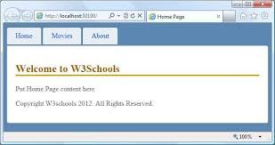 bootstrap tutorial pdf w3schools asp net mvc views