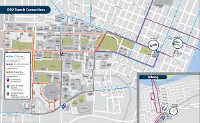 Portland State University Map by Transit