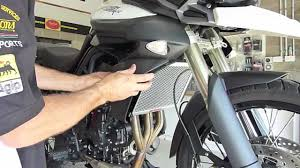 radguard fitting instructions for triumph tiger 800 youtube