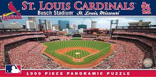 amazon com masterpieces mlb st louis cardinals stadium panoramic