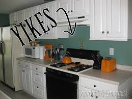 paint kitchen backsplash how to paint a backsplash to look like tile painted kitchen
