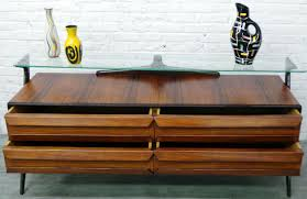mid century modern italian design rosewood sideboard modernism