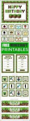 free printable birthday invitations minecraft free printable minecraft birthday invitations 4birthday info