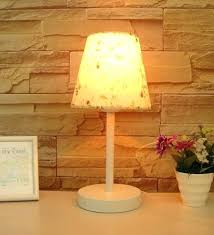 Small Table Lamp Next Side Table Bedroom Set Up Chic Night Table Next To The Bed Set