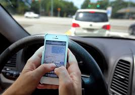 distracted drivers cell phone use can cause car crash injuries