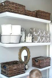 Hanging Baskets For Bathroom Storage Hang Baskets On Bathroom Wall Wire Wall Storage Bins Metal Wall