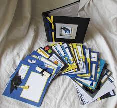 personalized scrapbook album graduation scrapbook premade custom graduation 8x8 album