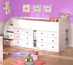 white loft bed with storage u2014 modern storage twin bed design