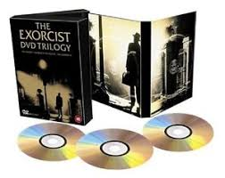 exorcist trilogy dvd part 1 2 3 triple movie film genuine uk