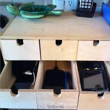 build a charging station easy peasy diy electronics charging station the deliberate mom