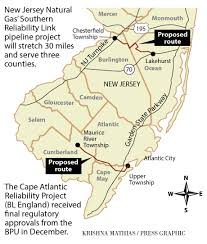 Map Of New Jersey Cities Cheaper Gas Means N J Pipelines On The Rise Money