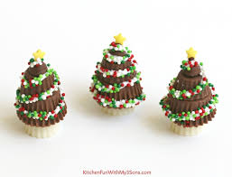 peanut butter cup trees kitchen with my 3 sons