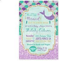 mermaid baby shower invitations brilliant decoration mermaid baby shower invitations crafty design