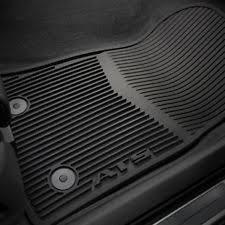 13 17 cadillac ats premium front rear floor mats 22759927 black