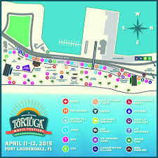 Map Of South Florida 2015 Tortuga Music Festival Grounds Map South Florida Country Music