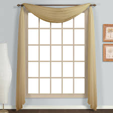Single Window Curtain by United Curtain Co Monte Carlo Single Window Scarf U0026 Reviews