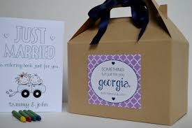 wedding favors for kids personalized kids wedding activity box kids wedding activity