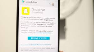snapchat app for android how to join the snapchat beta on android cnet