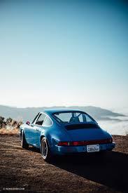 blue porsche workshop5001 u0027s latest 911 build is a blue autocross beast