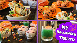 Halloween Treats And Snacks Diy Easy Halloween Treats Youtube
