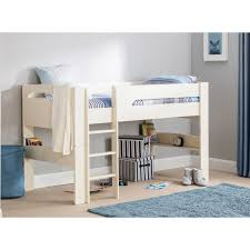 Midi Bed With Desk Childrens Mid Sleeper Beds Midsleeper Cabin Bed Kids Midsleeper