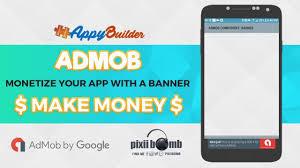 cara membuat x banner dengan publisher appybuilder monetize your app with admob banner youtube