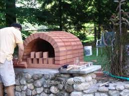 How To Build A Backyard Pizza Oven by Brick Pizza Oven Youtube