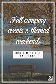 fall campground events u0026 themed weekends koa camping