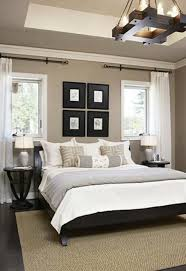 neutral colored bedding the cliffs cottage at furman black headboard neutral walls and